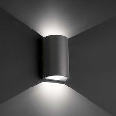 Applique extérieure LED Lace Gris Foncé (70811) : achat / vente Applique extérieure sur maginea.com