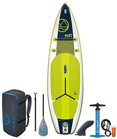 Jimmy Styks Mutt Inflatable Stand Up Paddle Green & Blue Long Best Inflatable Paddle Board, Inflatable Sup, Click And Go, Surf Decor, Standup Paddle Board, Surf Art, Paddle Boarding, Kayaking, Blue And White
