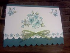 1st Bordering on Romance Card by Sarah B - Cards and Paper Crafts at Splitcoaststampers