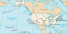 North and Central America Cruise Maps: United States Map Usa Country, Country Maps, Prudhoe Bay, Country Information, Usa Info, Valley City, Denver News, United States Map, Us Map