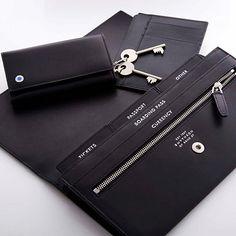 Smythson Mens Travel Wallet, via Smythson.com