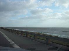 auf dem Weg nach Römö - mitten durch die Nordsee in Dänemark
