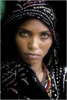 2# - still young and magically beautiful... woman named Papu, Rajasthan Thar Desert Gypsy (Kalbeliya or Bopa People).