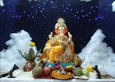 Top 81 fresh, creative & innovative Ganpati decoration ideas for home that is not only unique but easy on pocket as well. Ganpati Decoration Theme, Eco Friendly Ganpati Decoration, Mandir Decoration, Ganapati Decoration, Baby Ganesha, Ganesha Art, Festival Decorations, Flower Decorations, Ceremony Decorations