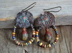 Image result for earthy rustic bohemian tribal jewelry