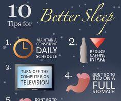 10 Tips for Better Sleep Infographic http://ahealthblog.com/c15v