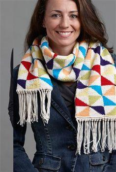 Free pinwheel  Knit pattern
