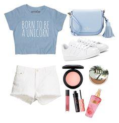 """Today's look"" by liamariemarinez on Polyvore featuring moda, STELLA McCARTNEY, Kate Spade, adidas, NARS Cosmetics, Benefit, Urban Decay, Victoria's Secret e MAC Cosmetics"