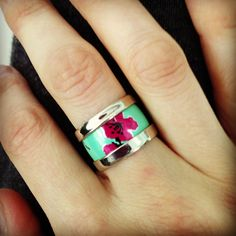 Ring made from an Arizona Tea can...awesome!