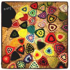 Sileby hookery - crochet bunting
