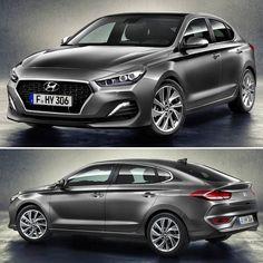 """Hyundai i30 Fastback 2018 Esta é a mais nova versão da família i30: um coupé de cinco portas!  Com 4.45m de comprimento o I30 fastback é mais baixo e tem uma traseira exclusiva em relação ao restante da gama. """"O design sofisticado deste modelo representa a essência da nossa filosofia: fazer um design Premium acessível para todos"""" comentou Thomas A. Schmid CEO d Hyundai Motor Europe.  Os clientes podem escolher entre o motor 1.4 t-gdi Turbo 4 cilindros com 140 cavalos ou 1.0 t-gdi Turbo 3…"""