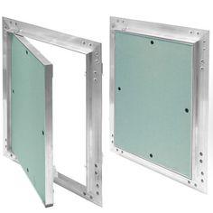 Revisionsklappe Aluminium-Rahmen 12,5 mm GK-Einlage Gipskarton Revisionstür Alu in Heimwerker, Baustoffe, Trockenausbau | eBay