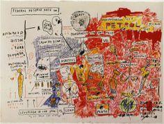 1983 J. Basquiat Sans Titre (The Daros Suite of Thirty-Two Drawnings) Techu-Anpu Acrylique Crayon gras pastel crayon charbon et crayon de couleur cm Suisse, Daros Collection. Jean Michel Basquiat Art, Jm Basquiat, Basquiat Prints, Basquiat Artist, Sgraffito, Sandro Chia, New York City, Graffiti Kunst, Guggenheim Bilbao