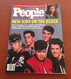 New Kids On The Block People Magazine from by aVintageVariety12, $7.00