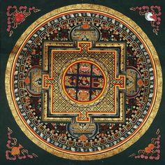 Tibetan tantric mandala
