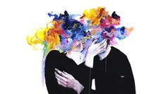 This Thing Called Art Is Really Dangerous Fine Art Print by Agnes Cecile. Authentic giclee print artwork on paper or canvas. Wall Art purchases directly support the artist. Framed Art Prints, Fine Art Prints, Canvas Prints, Big Canvas, Agnes Cecile, Grunge, Frame Display, Deviantart, New Art