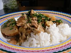 Disco Mom Takes on the World: Slow-Cooker Coconut & Green Curry Pork