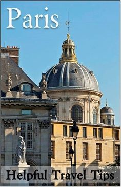 """Did you know you can save a lot on your accommodation in Paris if you look for hotels that are just slightly out of the city centre (but next to a Metro station)? Read all about it in our article: """"Paris Travel Tips""""."""