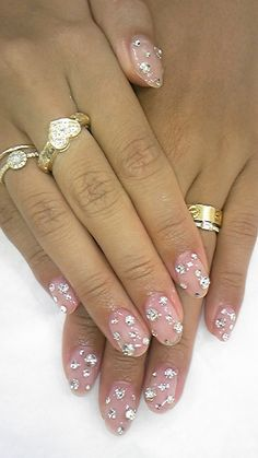 I think this is a perfect design for a night out!  | See more nail designs at http://www.nailsss.com/nail-styles-2014/2/