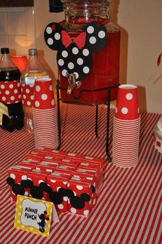 Mickey Mouse Clubhouse or Minnie Mouse Birthday Party Ideas | Photo 25 of 42 | Catch My Party