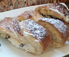 Tvarohový závin so slivým lekvárom French Toast, Breakfast, Food, Morning Coffee, Essen, Meals, Yemek, Eten