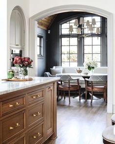 Home Interior Design .Home Interior Design Kitchen Nook, Kitchen Dining, Kitchen Decor, Kitchen Breakfast Nooks, Dining Rooms, Open Kitchen, Rustic Kitchen, Diy Kitchen, Vintage Kitchen