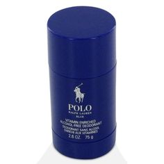Polo Blue Deodorant by Ralph Lauren, 2.6 oz Deodorant Stick for Men