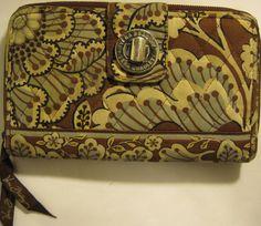 Vtg Vera Bradley Women Multi Color Fabric Clutch. #VeraBradley #Clutch