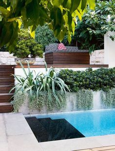 4 of the best swimming pool designs Gorgeous gardens, beautiful swimming pool Swimming Pool Landscaping, Cool Swimming Pools, Best Swimming, Swimming Pool Designs, Cool Pools, Backyard Landscaping, Landscaping Ideas, Pool Backyard, Backyard Ideas