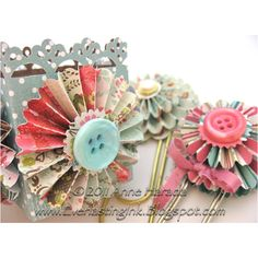 Pretty paper gift bags