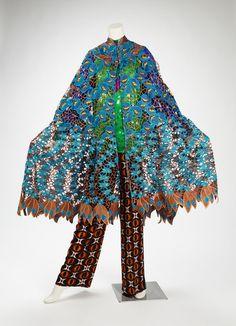 Woman's Swiss Lace Cape –Duro Olowu, designer British, b. 1966