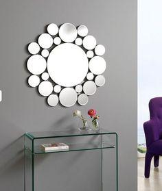 Espejos Cristal hasta 250€ : Espejo cristal CIRCULOS