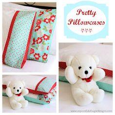 Make a pretty pillowcase
