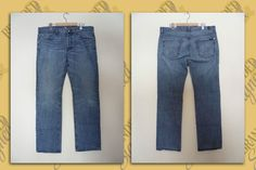 7 for All Mankind Blue Jeans Men s Strait leg 36 waist 33 inseam STANDARD Mens Leisure Wear, Blue Jeans Mens, Mom Jeans, Legs, Casual, How To Wear, Pants, Clothes, Fashion