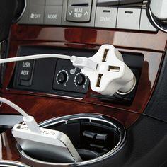 4-Port USB Car Charger