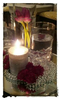 Elegant Birthday Party Centerpieces Jpeg 50th Birthday