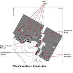 An image from the geophysical survey