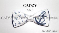 increible pajarita con anclas estampadas, puedes hacer tu pedido personalizado en www.carev.es