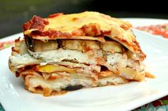 Veggie Lasagna by nutritionforus as adapted from cookinglight