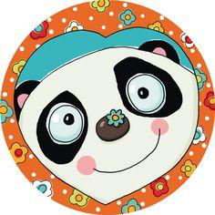 "Carole Wey ""Panda""  Panda Bear Illustration"