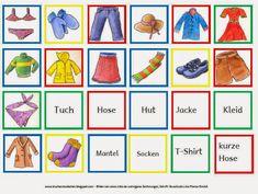 Drachenstübchen: Kleidungs Memo Spiel