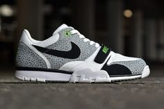 Nike Air Trainer 1 ST Low: Cross Training on Safari | FREE Global Sneaker Shipping | CrookedTongues.com — Selling soles since 2000