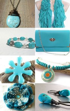 Gorgeous Turquoise by Crochet by Bebe