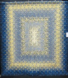 Mary Goodner's Blooming Nine Patch seen at Quiltin' Jenny