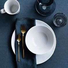 "Our tableware collection ""Copenhagen"" is perfect for every occasion because of…"