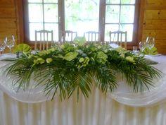 Green weddings centrepieces #bloomamddeco