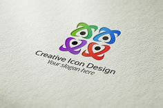 Check out Creative Icon Design Logo by BDThemes Ltd on Creative Market