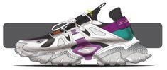 Anta Infinity Project on Behance Sneakers Sketch, Nike Run, Ribbon Shoes, Shoe Sketches, Dnd Art, Sports Footwear, Industrial Design Sketch, Unique Shoes, Top Shoes