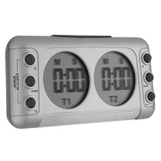 Double kitchen timer, very useful if you're cooking lots of different items http://www.pricerunner.co.uk/cl/461/Kitchen-Accessories#search=double+kitchen+timer&sort=4&q=double+kitchen+timer
