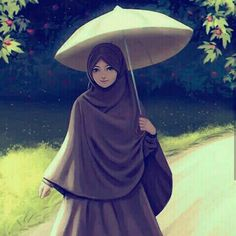 The scarf is central to the element inside the apparel of women using hijab. Since it is the central addition Cute Muslim Couples, Muslim Girls, Hijabi Girl, Girl Hijab, Lovely Girl Image, Girls Image, Tmblr Girl, Hijab Drawing, Islamic Cartoon